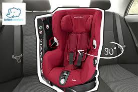 siege auto bebe 9 mois siège auto axiss pivotant à 90 degrés une révolution bébé confort
