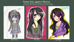 Draw It Again Meme - draw this again meme by yuushiki on deviantart