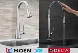 moen vs delta kitchen faucets moen vs delta a kitchen faucets read