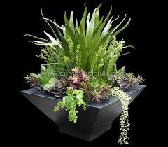 succulent arrangements artificial succulent arrangement silk plants faux succulents