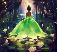 princess frog princess tiana art bayou princess xinwei