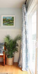 Easy No Sew Curtains Quick U0026 Easy Diy Barely Sew Or No Sew Drapery Panels The Happy