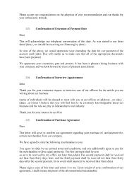 Confirmation Extension Letter Format sle business letters 101 200