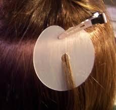 keratin bond hair extensions how to apply hair extensions extension placement shields how to