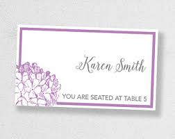 Design Your Own Place Cards Avery Place Card Template Instant Download Escort Card