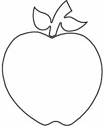 apple outline drawing 11 pics of apple coloring page clip art