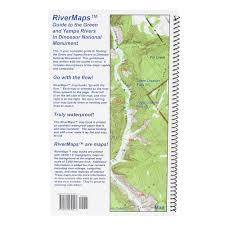 How To Read A Topo Map Rivermaps Green U0026 Yampa In Dinosaur National Monument Guide Book
