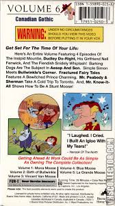 the rocky and bullwinkle show the adventures of rocky and bullwinkle volume 6 canadian gothic