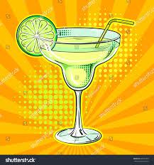 margarita png liquor alcohol cocktail margarita pop art stock vector 609737303