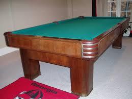 Antique Brunswick Pool Tables by Brunswick Twentieth Century Renovation
