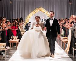 coming to america wedding dress exclusive photos inside serena williams s fairy tale wedding in