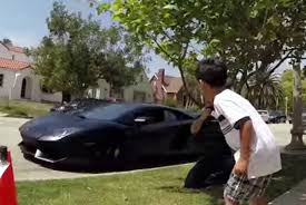 lamborghini reventon crash lamborghini dealership crashes 7 year old birthday party video