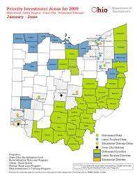 Cities In Ohio Map by Major Expansion Of Areas Eligible For Ohio Brownfield Grant