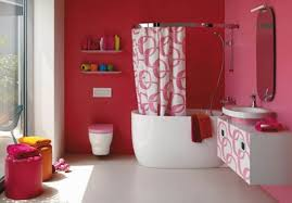 Teenage Bathroom Themes Bathroom Bathroom Ideas For Kids With Decorating With Red Also