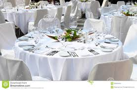 Pictures Of Table Settings Festive Table Settings Stock Photo Image Of Food Light 35603442