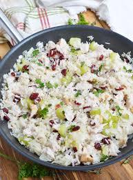mccormick turkey recipes thanksgiving leftover turkey cranberry rice wonkywonderful