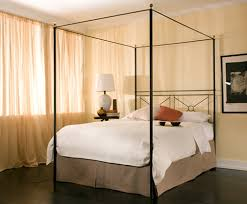 Iron Canopy Bed Wrought Iron Canopy Bed Bonners Furniture