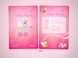 invitation card for baby shower ideas tina baby shower invitations