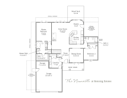 newcastle ranch home henning estates newcastle ranch floor plan