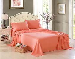 Bed Sheet Set Honeymoon 1800 Brushed Microfiber Embroidered Bed