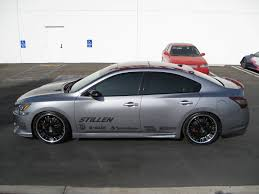 grey nissan maxima 2016 stillen 2009 nissan maxima sema project car progress finished