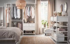 Your Open Wardrobe Made Easy And Elegant - Design bedroom ikea