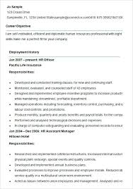 hr cv sample for freshers hr resume sample for 3 years experience pleasant resumes human