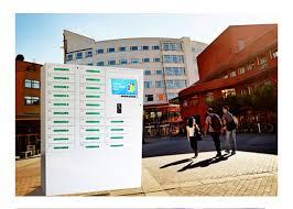 24 box cell phone charging kiosk valet charging station for