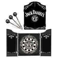 black dart board cabinet jack daniels collectors sisal dart board set jack darts fathers