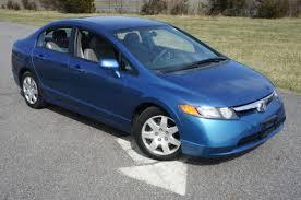 2006 honda civic sedan for sale blue automatic great commuter