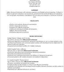ultrasound resume ultrasound tech resume sonographer resume diagnostic