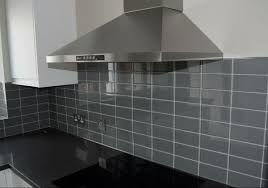 Grey Tiles Sample Gun Metal Grey Glass Metro Tile Alec Buchan