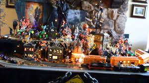 retired dept 56 halloween halloween village display dept 56 halloween and lemax spooky
