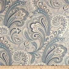 Upholstery Linen Fabric By The Yard By The Yard Paisley Upholstery Craft Linen Ebay