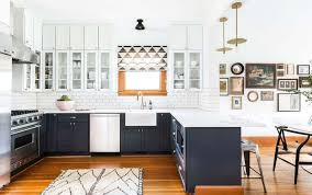different color cabinets for kitchen how to use two toned kitchen cabinets in your remodeling