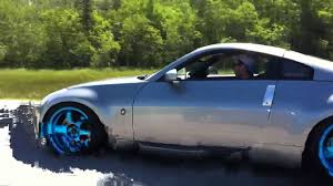 Nissan 350z Blue - nissan 350z transparent blue varrstoen youtube
