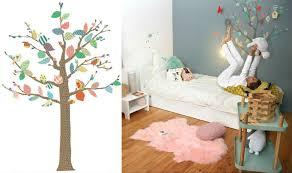 arbre chambre bébé stickers arbre chambre fille stickers arbre chambre enfant with