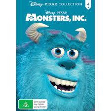 monsters disney pixar collection dvd big