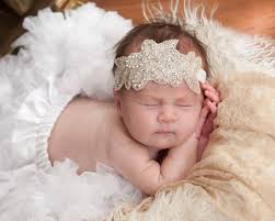 baby hair accessories wholesale baby girl christening headband for hair accessories