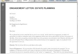 send a letter of engagement from clio webmerge