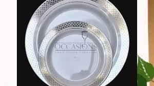 silver wedding plates cheap plastic plates silver find plastic plates silver deals on