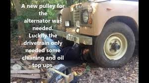 1975 land rover my 1975 land rover series 3 diesel rolling restoration youtube