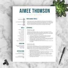 contemporary resume template modern resume templates get landed