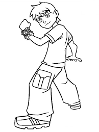 stylish idea ben 10 coloring pages games coloring pages boys ben