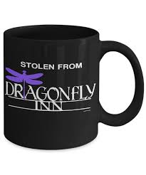 gilmore girls inspired coffee mug stolen from the dragonfly inn