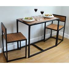 Space Saving Dining Table by 2 Person Space Saving Compact Kitchen Dining Table U0026 Chairs