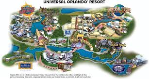 Orlando Area Map Florida by Universal Studios Map Universal Studios Map Orlando Florida Usa