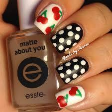 14 lovely cherry nail art designs summer nail art summer and girls