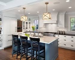 houzz kitchen islands freshdirect why painted kitchen islands are trending from houzz