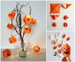 ideas diy origami lanterns